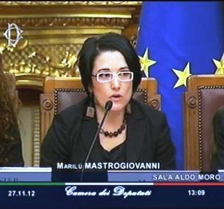 """La giornalista Marilù Mastrogiovanni, direttora de """"Il tacco d'Italia"""""""