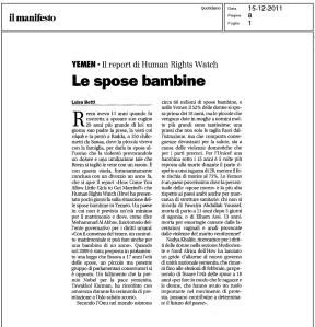 spose bambine manifesto