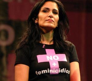La giornalista Lydia Cacho