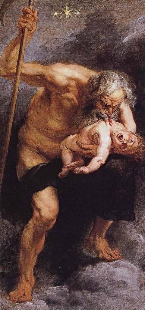 """""""Saturno che divora suo figlio"""" (1636), Pieter Paul Rubens"""