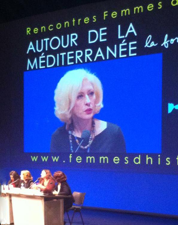 Luisa Betti - AUTOUR DE LA MÉDITERRANÉE. La force des femmes - Femme d'Histoire 7 febbraio 2015 -