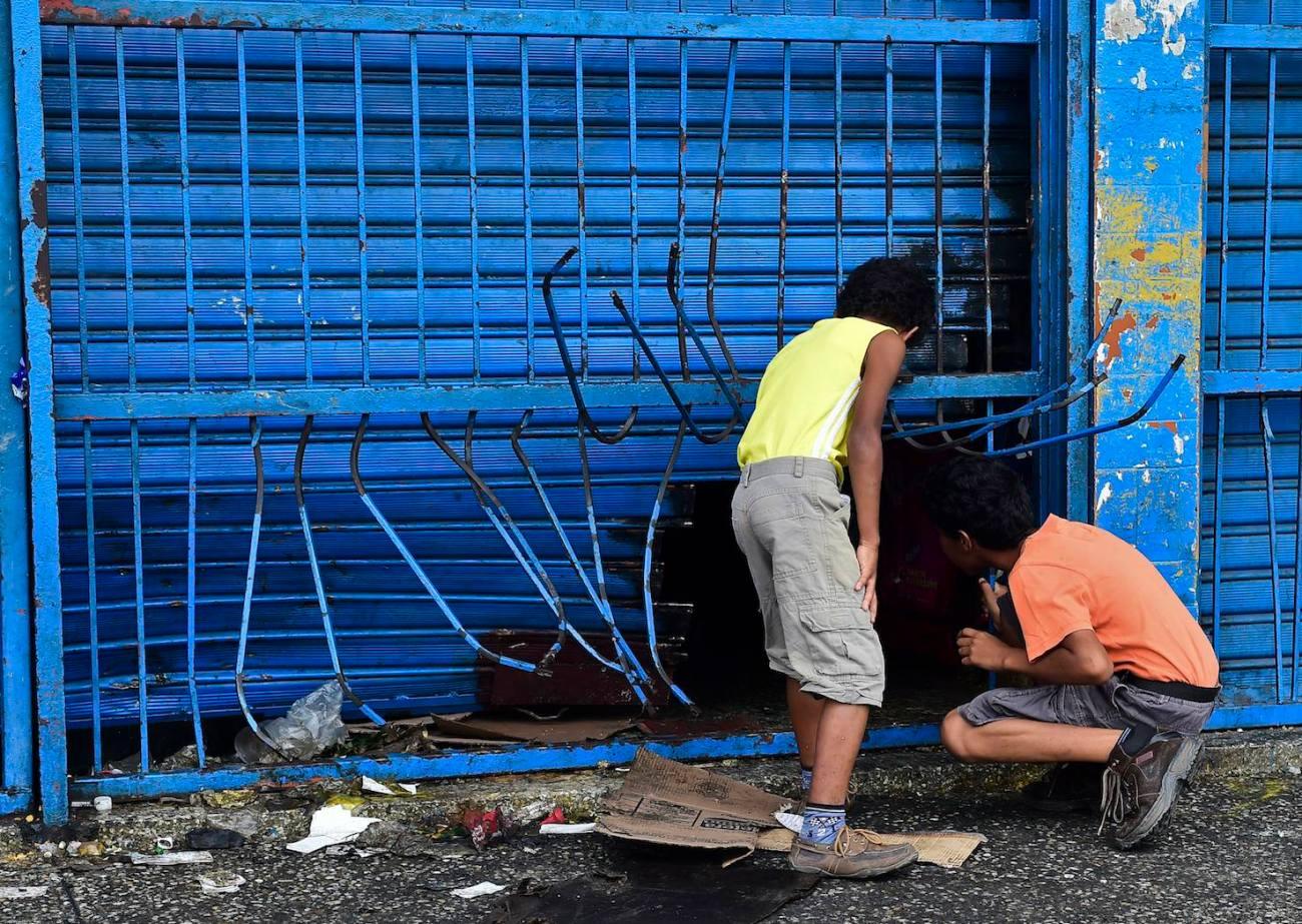 VENEZUELA-CRISIS-PROTEST-LOOTINGS