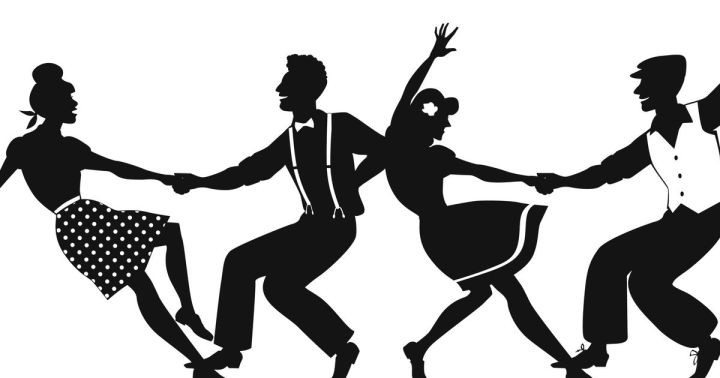 swingdancers