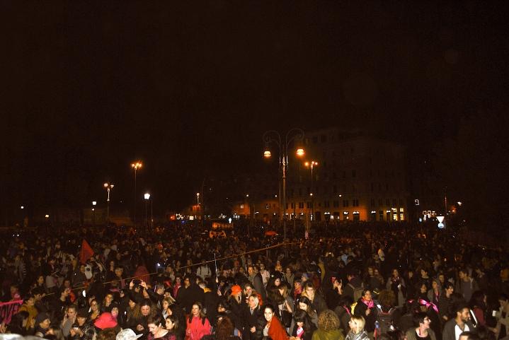 piazza san giovanni ieri